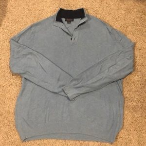Brooks Brothers quarter button sweater
